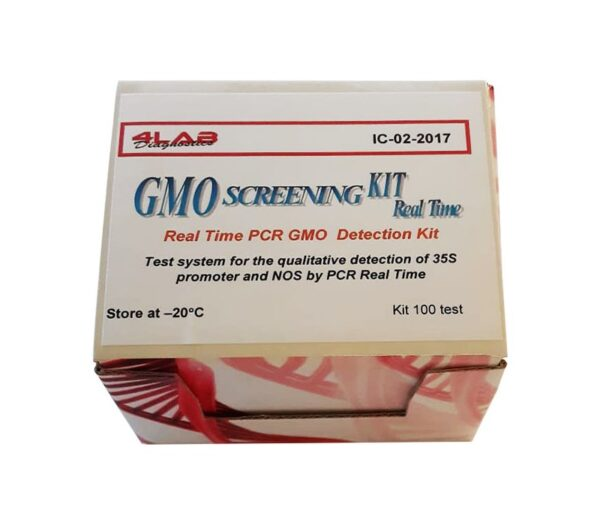 Real time PCR GMO Detection Kit with amplification control